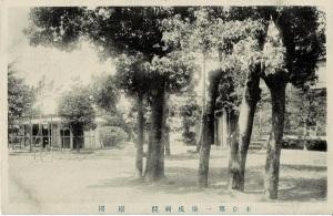東京第一衛戍病院 庭園(国立国際医療研究センター)