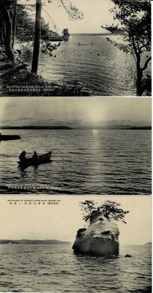 和倉温泉海水浴場の情景など