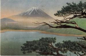 本栖湖から見た富士 山田應水撮影